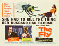 "Movie Posters:Science Fiction, The Fly (20th Century Fox, 1958). Half Sheet (22"" X 28"").. ..."