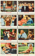 "Movie Posters:Drama, Lolita (MGM, 1962). Lobby Card Set of 8 (11"" X 14"").. ... (Total: 8Items)"