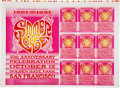 Music Memorabilia:Posters, Summer of Love 1967-97 Concert Poster and Handbill Uncut ProofSheet (1997)....