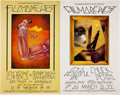 Music Memorabilia:Posters, Ten Years After/It's a Beautiful Fillmore West Concert Poster UncutProof Sheet (Bill Graham, 1970)....