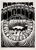 """Music Memorabilia:Posters, Beatles """"All You Need Is Love"""" Second Printing Signed by JimPhillips...."""