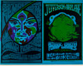 Music Memorabilia:Posters, Jefferson Airplane/Vanilla Fudge Fillmore Concert Uncut Proof Sheet(Bill Graham, 1967)....