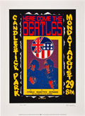 Music Memorabilia:Posters, The Beatles Here Come the Beatles 1992 Limited EditionPoster....