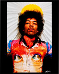 Music Memorabilia:Photos, Jimi Hendrix Rare Gypsy Exes Limited Edition Photo....