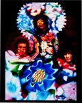 Music Memorabilia:Photos, Jimi Hendrix Rare Experience Tripping Limited EditionPhoto....