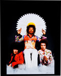 Music Memorabilia:Photos, Jimi Hendrix Rare Experience Fan Shot Limited EditionPhoto....