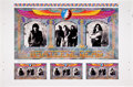 Music Memorabilia:Posters, The Grateful Dead Uncut Art Poster Proof Sheet (1996)....