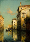 Paintings, ANTOINE BOUVARD, JR. (French, 1913-1972). Venice Canal. Oil on canvas . 13 x 9-1/2 inches (33.0 x 24.1 cm). Signed lower...