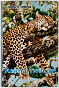 Books:Signed Editions, J. L. Cloudsley-Thompson. INSCRIBED. Animal Twilight: Man and Game in Eastern Africa. [London]: Dufour, 1967. First ...