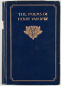 Books:Signed Editions, Henry van Dyke. INSCRIBED. The Poems of Henry van Dyke. New York: Charles Scribner's Sons, 1912. Later impressio...