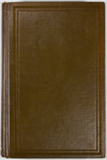 Books:First Editions, Ales Hrdlicka. Early Man in South America. Washington:Government Printing Office, 1912. First edition. Octavo. Publ...