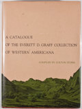 Books:First Editions, Colton Storm [editor]. A Catalogue of The Everett D. GraffCollection of Western Americana. Chicago: Newberry Librar...