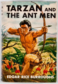 Books:Science Fiction & Fantasy, Edgar Rice Burroughs. Tarzan and the Ant Men. New York: Grosset & Dunlap, [1924]. Later edition. Octavo. Publisher's...