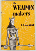 Books:First Editions, A. E. van Vogt. The Weapon Makers. New York: Greenberg,[1952]. First revised edition. Octavo. Publisher's binding a...