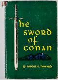 Books:First Editions, Robert E. Howard. The Sword of Conan. New York: Gnome Press,[1952]. First edition, first printing. Octavo. Publishe...