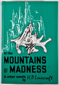 Books:Horror & Supernatural, H. P. Lovecraft. At the Mountains of Madness and Other Novels. Sauk City: Arkham House, [1975]. Fourth printing. Oct...