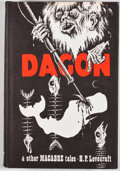 Books:Horror & Supernatural, H. P. Lovecraft. Dagon and Other Macabre Tales. Sauk City:Arkham House, 1965. First edition. Octavo. Publisher'...