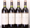Red Bordeaux, Chateau Meyney 1982 . St. Estephe. 3ts, 3lbsl, 1lnl, 1ll.Bottle (4). ... (Total: 4 Btls. )