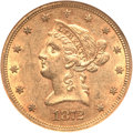 Liberty Eagles, 1872-S $10 AU58 NGC....
