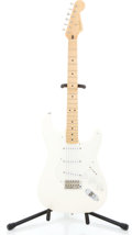 Musical Instruments:Electric Guitars, 1996 Fender Stratocaster Arctic White Solid Body Electric Guitar#MSN606786...