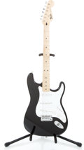 Musical Instruments:Electric Guitars, 1995 Fender Stratocaster Black Solid Body Electric Guitar#MN579743...