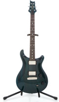 Musical Instruments:Electric Guitars, 2002 Paul Reed Smith Custom 22 Emerald Green Transparent Solid BodyElectric Guitar #268070...