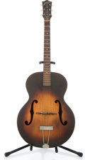 Musical Instruments:Acoustic Guitars, 1953 Gretch New Yorker Sunburst Archtop Acoustic Guitar #6859...
