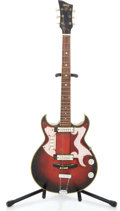 Musical Instruments:Electric Guitars, EKO Red Semi-Hollow Body Electric Guitar Project...