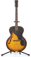 Musical Instruments:Electric Guitars, 1962 Gibson ES-120T Sunburst Semi-Hollow Body Electric Guitar#50941...