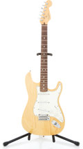 Musical Instruments:Electric Guitars, 1997 Fender Stratocaster Natural Solid Body Electric Guitar #N7323643...