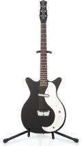 Musical Instruments:Electric Guitars, 1959 Danelectro Single pickup Black Semi-Hollow Body ElectricGuitar #N/A...