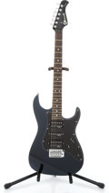 Musical Instruments:Electric Guitars, Charvel CSM-1G Dark blue metallic Solid Body Electric Guitar#008051...