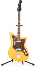 Musical Instruments:Electric Guitars, 1960's EKO Orange Sparkle Solid Body Electric Guitar #N/A...