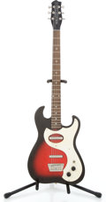 Musical Instruments:Electric Guitars, 2000s Danelectro Dano '63 Red Burst Baritone Electric Guitar,Serial #019479...
