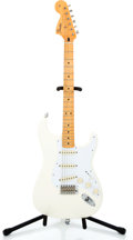 Musical Instruments:Electric Guitars, 2006 Fender '67 Reissue Stratocaster White Solid Body ElectricGuitar #MZ6279576...