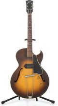 Musical Instruments:Electric Guitars, 1955 Gibson ES225TC Sunburst Archtop Electric Guitar #W3546 13...