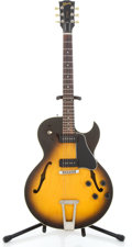 Musical Instruments:Electric Guitars, 1993 Gibson ES135 Tobacco Sunburst Semi-Hollow Body Electric Guitar#92943501...