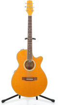Musical Instruments:Acoustic Guitars, Recent Takamine Jasmine TS93C-A Orange Acoustic Electric Guitar#151237...