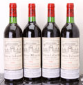 Red Bordeaux, Chateau La Lagune 1982 . Haut Medoc. 2bn, 1tl, 2ll. Bottle(4). ... (Total: 4 Btls. )