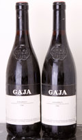 Italy, Barbaresco 1986 . Gaja . 2lbsl. Bottle (2). ... (Total: 2Btls. )
