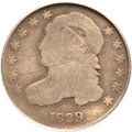 Bust Dimes, 1829 10C Curl Base 2 Good 4 PCGS. JR-10, R.6....