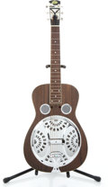 Musical Instruments:Acoustic Guitars, Recent Regal Resonator Resonator Dark Mahogany Resonator Guitar#na...