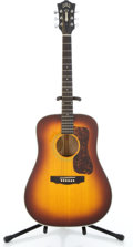 Musical Instruments:Acoustic Guitars, 1976 Guild D44-SB Sunburst Acoustic Guitar #93003...