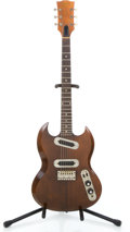 Musical Instruments:Electric Guitars, 1972 Gibson SG II Walnut Solid Body Electric Guitar #958264...