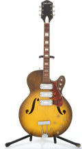 Musical Instruments:Electric Guitars, 1960 Silvertone 1429 Sunburst Archtop Electric Guitar #515RD...
