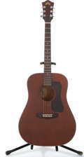 Musical Instruments:Acoustic Guitars, 1980 Guild D25M Mahogany Acoustic Guitar #DA100626...