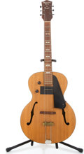 Musical Instruments:Electric Guitars, 1940's Recording King by Regal Natural Archtop Electric Guitar#na...