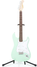 Musical Instruments:Electric Guitars, Recent Landric Custom Plus Surf Green Solid Body Electric Guitar#10907006...