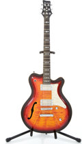 Musical Instruments:Electric Guitars, Recent Framus Framus Tennessee Sunburst Semi-Hollow Body ElectricGuitar #09754903...
