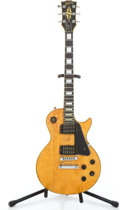 Musical Instruments:Electric Guitars, 1977 Gibson Les Paul Custom Natural Refin Solid Body ElectricGuitar #72527525...